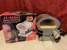 GOLD 'N HOT Professional Jumbo CERAMIC HEATER STOVE 860˚f Extra Wide Opening