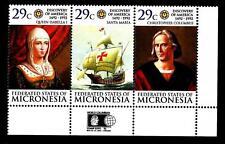MICRONESIA - 1992 - 500° anniversario della scoperta dell'America da parte di Cr