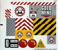 LEGO 4204 - Town / City: Construction - The Mine - STICKER SHEET