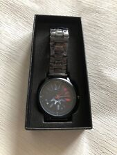Brand new Audi alloy wheel watch with metal mesh strap - fast delivery