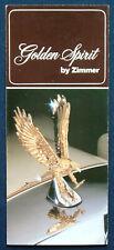 Prospekt brochure Zimmer Golden Spirit (USA)