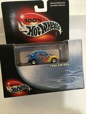 100% Hot Wheels Collectible Limited Edition Black Box Vintage 1966 Vw Bug