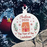 Novelty Christmas Bauble Year Of The Lockdown Tree Decoration Gift Of 2020