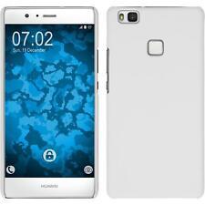 Funda Rígida Huawei P9 Lite - goma blanco protector de pantalla