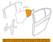 Bmw Oem 2014 328i xDrive Glass-Rear Door-Fixed Window Left 51357269555