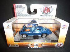 M2 Chevrolet Corvette 427 1966 Blue 1/64