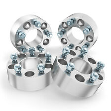 """2 1.5/"""" 5x4.75 Hubcentric Wheel Spacers 12x1.5 Studs Adapters For Chevrolet"""