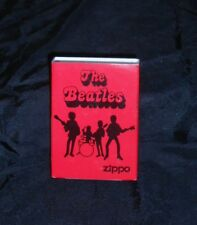 "THE BEATLES, ZIPPO LIGHTER, 2006 IN ORIGINAL TIN & COVER ""BEATLES BAND""  NEW!"
