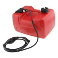 12L Large Gas Fuel Tank 3.2 Gallon For Yamaha Outboard Motor w/Connector Red