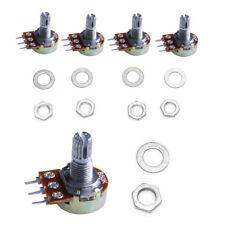 5Pcs x 50K ohm Linear Taper Rotary Potentiometer Panel pot B50K