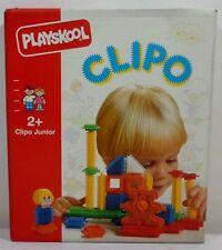 PLAYSKOOL VTG 1991 STICKLE BRICKS CLIPO JUNIOR # 1632 30 Pcs SFINOTOUBLAKIA MIP