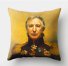 ALAN RICKMAN PAINTING Cushion Cover! Retro Harry Potter Art Vintage 45cm Gift