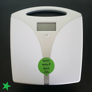 Portable Precision Electronic Bathroom Weight to 400 Lb White Digital to 400 Lb