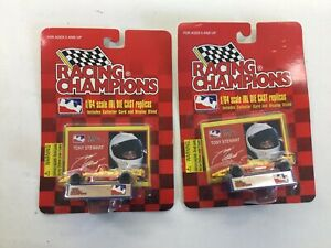 2) 1996 Racing Champions 1:64 Tony Stewart Indy Cars