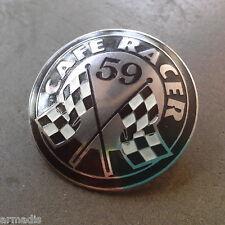 CAFE RACER PIN ROCKERS TON UP 59 CLUB ITALY AJS BSA BIKERS TRIUMPH BMW NORTON