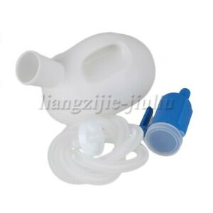 Bule and Milk White A type PP Male Urine Bottle
