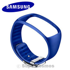 NEW Genuine OEM Samsung Galaxy Gear S Watch BLUE Replacement Band Bracelet Strap