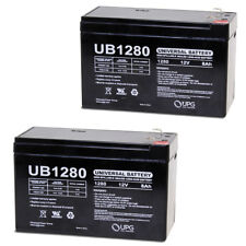 UPG 12V 8Ah Battery Replacement for Honeywell Ademco DSC GE UT1270 - 2 Pack