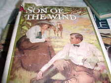 ANTIQUE BOOK, 1910, SON OF THE WIND, LUCIA CHAMBERLAIN, NOVEL