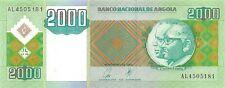 Angola 2000 Kwanzas 2003 Unc pn 151a