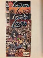 Collectible LOBO Miniseries No. 1-4 1990-91. Superhero.Action. D. C. Comics