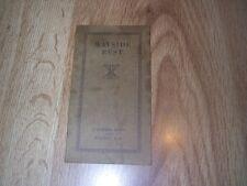 Wayside Rest - A Summer Home Hear Walton NY by Mrs W R Russell  ILLUS c1930