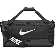 Nike Brasilia 5 Duffel Bag M Ba5955-010 Black Unisex