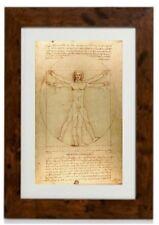 Vitruvian Man Framed Print  by Leonardo da Vinci