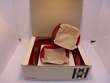 Benzing Red Plastic 3 Bowl Set in Box Vintage