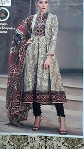 Unstitched salwar kameez designer