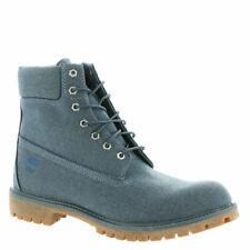 "Timberland 6"" Premium Fabric Boot (Men's) US 12 D. Heathered Midnight Navy"
