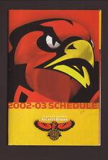 2002-03 Atlanta Hawks Schedule--Fox Sports Net