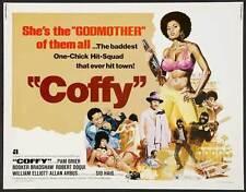 COFFY Movie POSTER 22x28 Half Sheet B William Elliott Sid Haig Pam Grier Booker