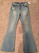 Tokyo Darling Aeropostale High Waisted Flare Jeans Size 8 Regular Nwt