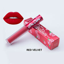 14 Colors Fashion Makeup Matte Liquid Lip Gloss Long Lasting Pencil Lipstick Red Velvet