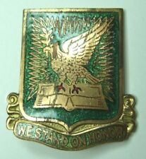 WW2 712th MP Battalion Unit Crest D.I. - Military Police - SB