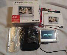 Archos 605 Wi-Fi Portable Media Player - 80 GB - VGC (500963)