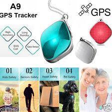 Mini GPS Tracker for Kids Elder Pets Vehicle Car Map Alarm GSM GPRS LBS Locator