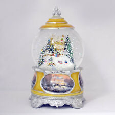 Joy To The World Christmas Water / Snow Globe  Songs  the Season Thomas Kinkade
