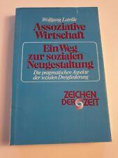 Buch von Wolfgang Latrille - Assoziative Wirtschaft-ein Weg zur sozialen Neugest