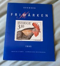 More details for 1995 swedish stamps in folder. free postage. ref sw95.