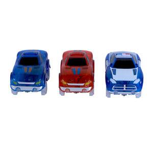 Magic Tracks Racing Car | Autorennbahn f. Kinder ab 3 J. | Zubehör leuchtend