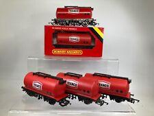 00 Gauge Wagons - Rake of 5 Hornby Texaco Tanker  WAGONS R231