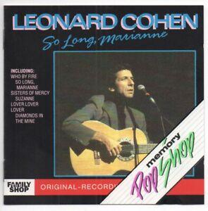 Leonard Cohen - So long, Marianne (CD) 1989
