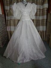 (9)Edles Damen Braut Standesamt Abend Kleid  GR: GR: 38