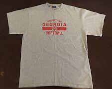 Vintage Champion University Of Georgia Softball T Shirt
