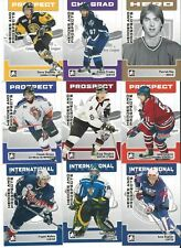 2006-07 ITG Heroes & Prospects Complete Set 1-150 Roy - Crosby - Malkin - Rask +