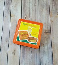 Old Vintage Advertising Ad Reese's Peanut Butter Cup 1997 Litho Metal Tin Can