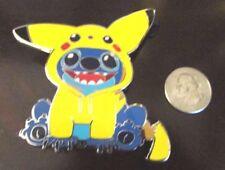 Disney Pokemon Stitch as Pikachu Fantasy Limited Edition Legendary EX LVX GX Pin