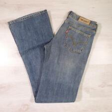 "Ladies LEVIS 572 Stonewashed Blue 29""W 34""L Vintage Bootcut Denim Jeans #E2263"
